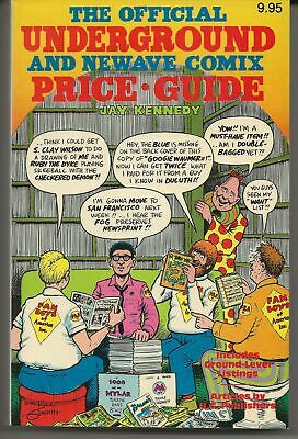 1982 Official Underground and Newave Comix Price Guide 1st Edition Paperback
