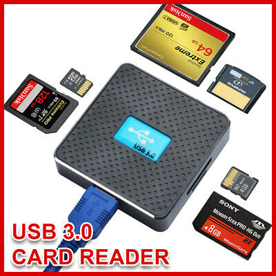 USB 3.0 SD Memory Card Reader CF for All in One SDHC SDXC MMC Multi Micro