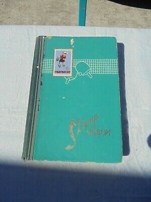 Stamp album containing approx 280 Australian stamp collection