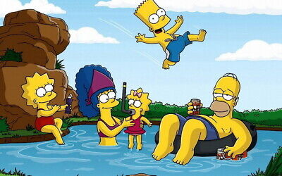 """003 The Simpsons - Classic USA TV Show 22""""x14"""" Poster"""