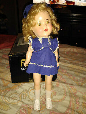 "13"" Vintage 1930's Shirley Temple Composition Doll"