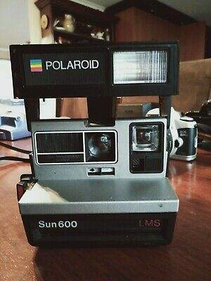 Vintage Polaroid Sun 600 Lms Film Camera
