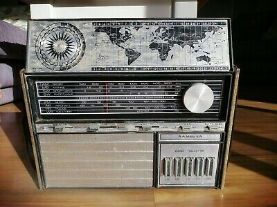 Rambler Vintage Radio Working - AM FM SW