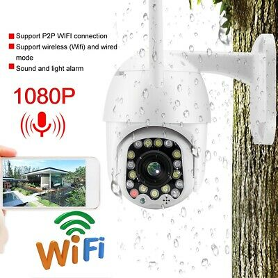 "2.5""  17/23-LED 1080P HD WiFi Wireless Home Security Camera IR PTZ Night View"
