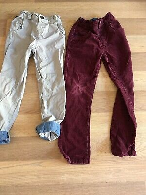 Two Pairs Of Boys Next Trousers Age 4-5