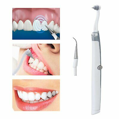 2019 Electric Sonic Tooth Beauty Cleaner Pic Whitening Plaque Remover Pick AU