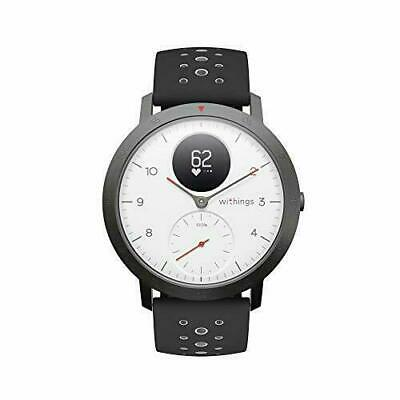 Withings Steel HR Sport - Montre connectée hybride mul(Blanc)