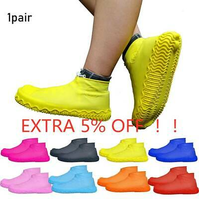 Silicone Overshoes Rain Waterproof Shoe Covers Boot Cover Protector Recyclable/