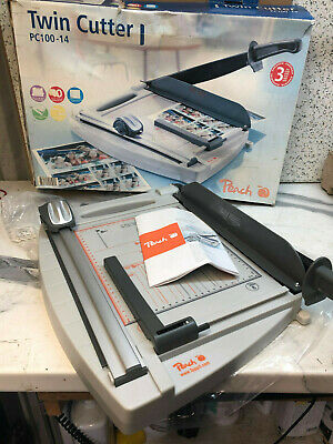 Peach A4 Twin Paper Cutter / Guillotine .
