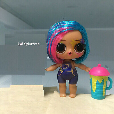 Original Lol Splatters Surprise Doll Hairgoals Makeover Series 5 no outfit toy