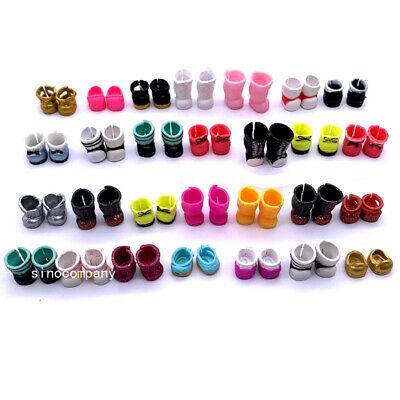 Lot 5 pairs of Shoes Accessories LOL Surprise dolls Replacement Outfit no repeat