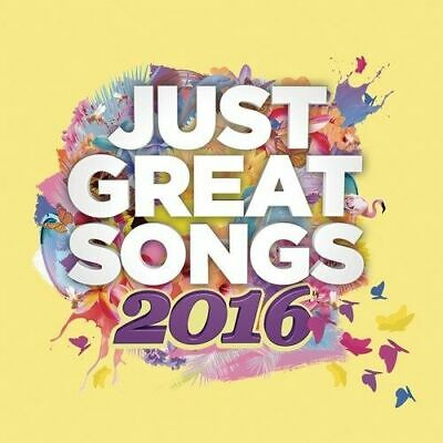 Just Great Songs 2016 - Various Artists [New & Sealed] 2 CD Digipack