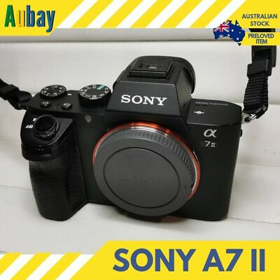 Sony Alpha A7 II 24.3MP Mirrorless Full Frame Camera Body Only Mint Condition