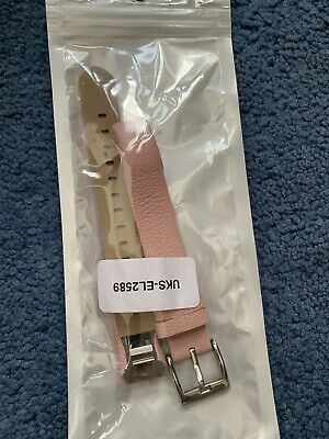 Fitbit Alta HR Pink Leather Wristband Strap