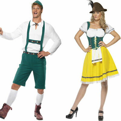 Couples Oktoberfest Costumes Fancy Dress Bundle