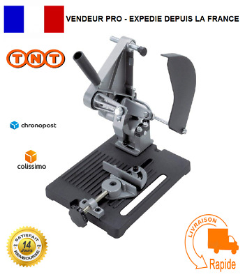 Support Meuleuse Disqueuse d'angle 115/125mm Worlfcraft I Outil Bricolage