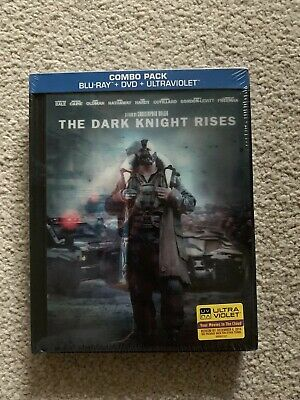 The Dark Knight Rises Collectors Blu-Ray Digibook Lenticular Cover Sealed