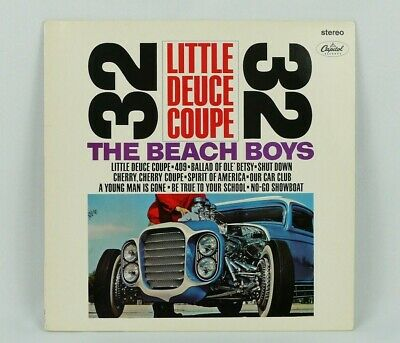 "The Beach Boys-Little Deuce Coupe 1986 12"" Record LP Album Little Deuce Coupe"