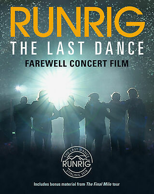 RUNRIG 'THE LAST DANCE : FAREWELL CONCERT' (Live at Stirling) BLU RAY (2019)