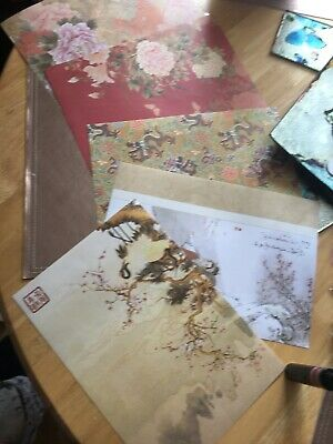Job Lot Clear Out Oriental 5  Paper Sheets Scrapbook Crafting