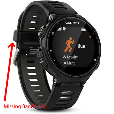 Garmin Forerunner 735XT Smartwatch GPS Activity Tracking - Black/Gray - READ UD