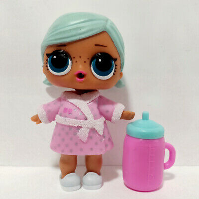 lol doll Big Sister Series 2-031 Light Blue Hair DIY Pink Dress Girls Gift