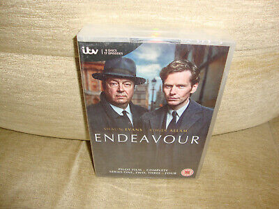 Endeavour - Pilot Film And Complete Series One, Two, Three And Four 1-4 DVD New