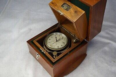 Thomas Mercer Double Box Marine Chronometer, circa 1958