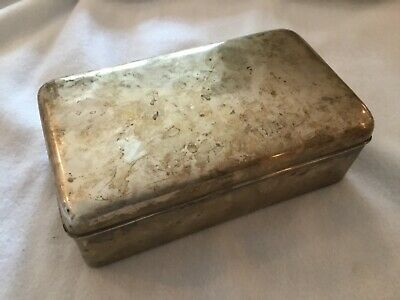 Vintage Tiffany & Co. Makers Sterling Silver Large 30 Troy Ounce Box