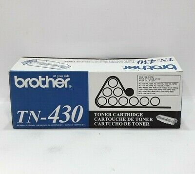 GENUINE Brother TN-430 Toner Cartridge TN430 HL-1030 1230 1240 NEW OEM BE735