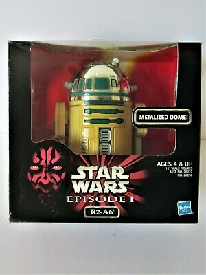 "STAR WARS  ep1 action collection "" R2 -A6 "" ( Dome métalizé) 1998"