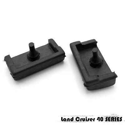 TOYOTA LAND CRUISER FJ40 FJ45 BJ40 BJ42 HJ45 HOOD WINDSHIELD HOOK PAIR NEW