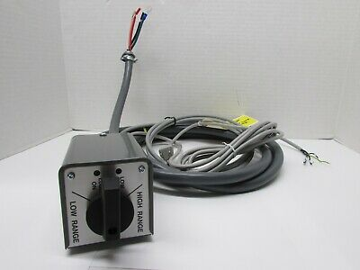 Bridgeport Fwd/Rev Switch W/Cables + Lube Pump Switching Option, PN D070329-STD