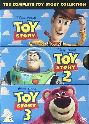 The Complete Toy Story Collection ~Toy Story 1 2 & 3 DVD Box Set Disney Pixar