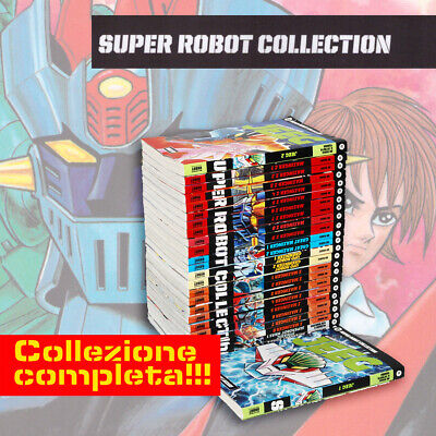 Super Robot Collection Lotto 26 Volumi Nuovi Di Edicola