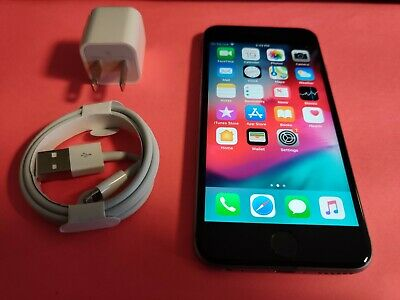 Apple iPhone 6s a1688 16GB Space Gray T-Mobile Simple Mobile Locked  -Very Good