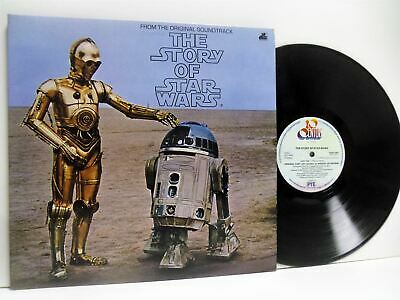 THE STORY OF STAR WARS from the original soundtrack LP VG+/EX, BSW 1001, vinyl,