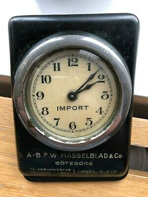 F.W. HASSELBLAD & Co IMPORT clock - EXTREMELY RARE - working