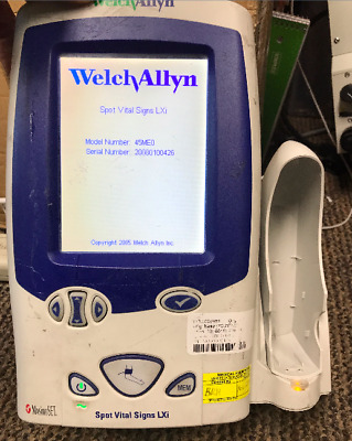 Welch Allyn Vital Signs LXI Medical Patient BP Monitor No Thermometer REF 45ME0