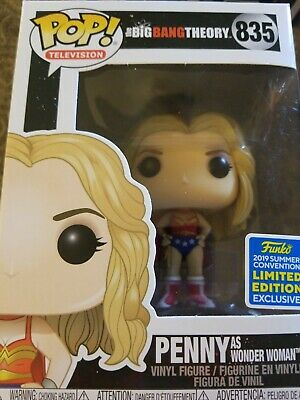 PENNY as Wonder Woman The Big Bang Theory Funko PoP 2019 Summer Convention LE
