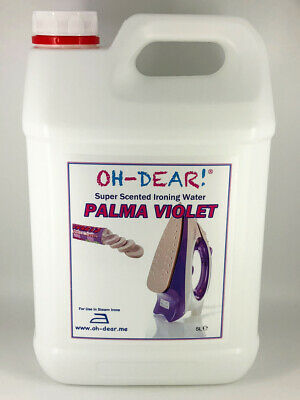 Parma Violets Scented IRONING WATER 5L