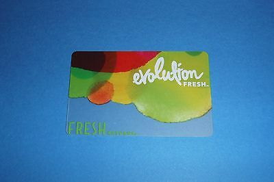Evolution Fresh Starbucks Gift Card. Exclusive and Rare. Out of print. New