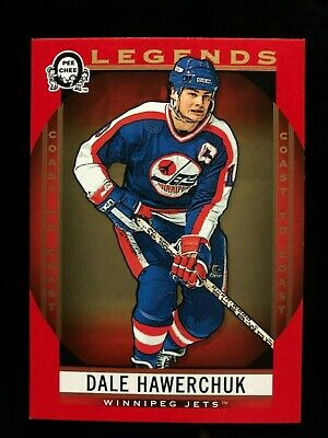 2018-19 OPC Coast To Coast Dale Hawerchuk Legends Red Parallel #209