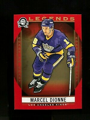 2018-19 OPC Coast To Coast Canadian Tire Marcel Dionne Legends Red Parallel #207