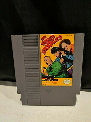 Three Stooges 3 (Nintendo Entertainment System NES) Cart Only