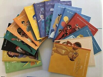 Disney Pixar - My Magical Story Collection - 15 Books In Collector Case