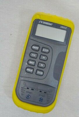 Omega HH-12 Digital Thermometer