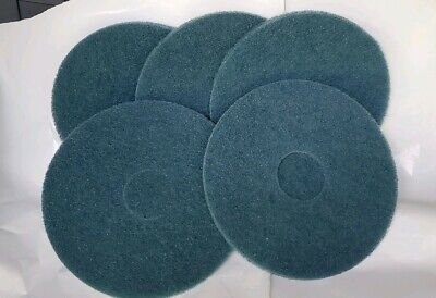"5 - 14"" Blue Cleaning Pads"