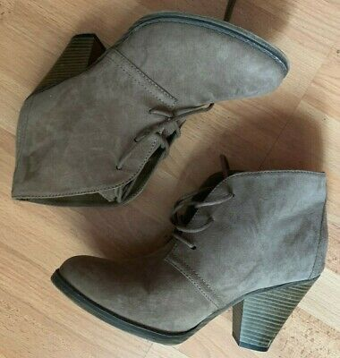 MIA Shawna Brown Womens Shoes Size 8 M Boots