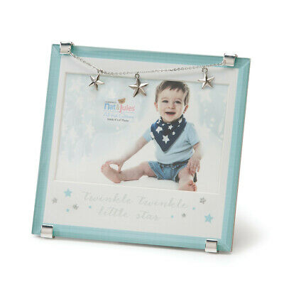 Demdaco Baby - Twinkle Twinkle Little Photo Frame Blue